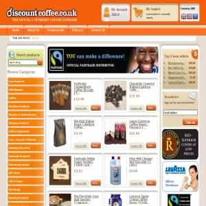 Discount Coffee Beans UK, Coffee Syrups, Hot Chocolate