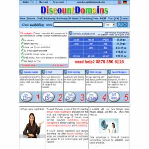 Discount Domains