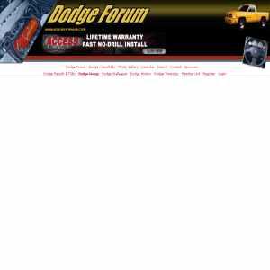 Dodge Forums