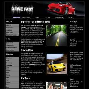 Fast Cars & Car Babes