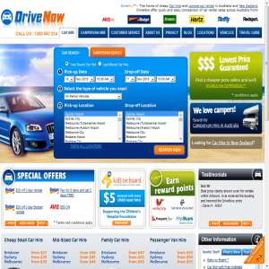 DriveNow - Car Hire and Campervan Rental