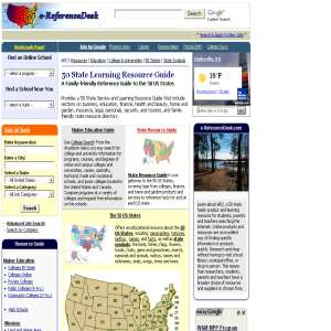 e-ReferenceDesk - 50 State Learning Resource Guide