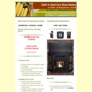 Corn Grills from Earthinhandcornstoves.com