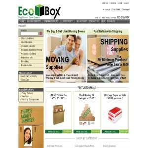 Moving Boxes - Eco Box