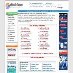 eHostInfo | Web Hosting Directory