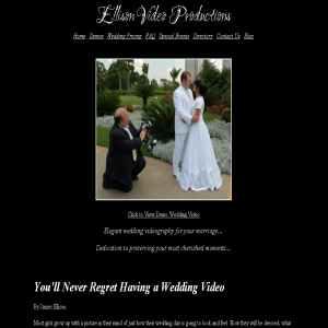 Utah Wedding Videos - Ellison Video Productions