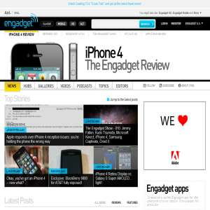 Engadget.com - gadgets & consumer electronics