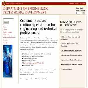 Engineering Professional Development - University of Wisconsin - Madison
