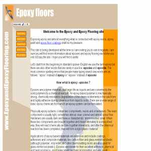Learn Everything about Epoxy & Epoxy Flooring