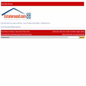 Real Estate Directory   Estateround.com