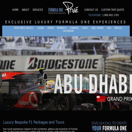 Formula 1 Tickets