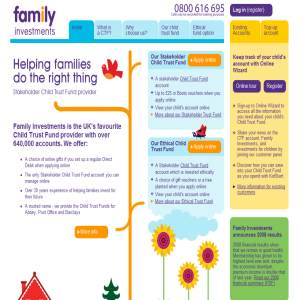 Child Trust Fund | CTF Account | Family Investments & the Childrens Trust Fund