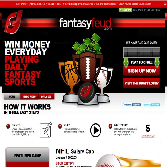 Daily Fantasy Sports Sites