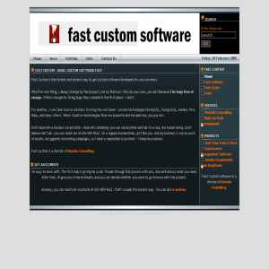 Custom Software from Fast Custom