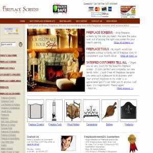 Fireplace Screens and Accessories