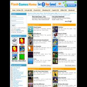 Flash Games Home