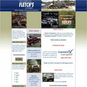 Fletchs Auto Sales in Northern Michigan