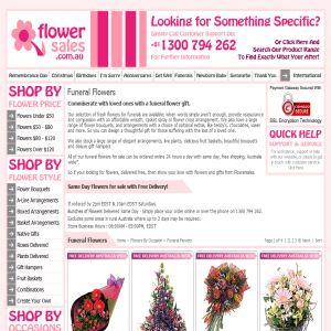 Funeral flowers Australia