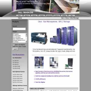 Emulex cards, Sun Microsystems, Cisco Routers & Catalyst Switch