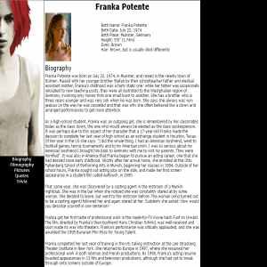 Franka Potente | Actress