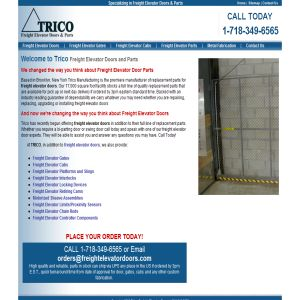 Trico - Freight Elevator Doors