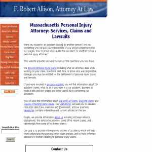 Massachusetts personal injury attorney
