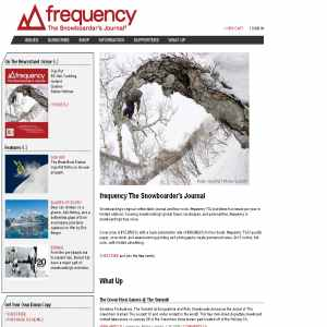 Frequency The Snowboard Journal