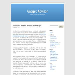 Gadget Advisor Technology News