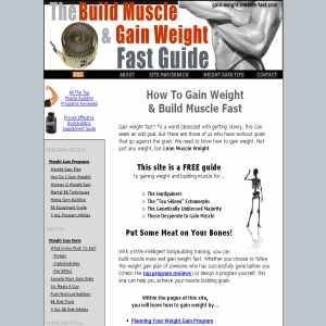 Build Muscle and Gain Weight Fast Guide