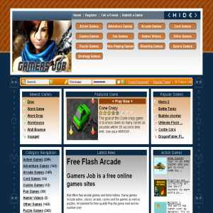 Gamers Job - Free online games