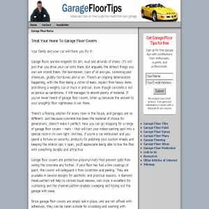 Garage Floor Tips