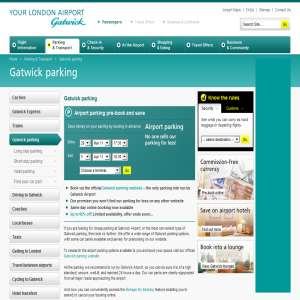 Cheap car parking Gatwick