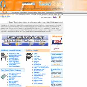 General Graphic Office Printing & Binding Equipment