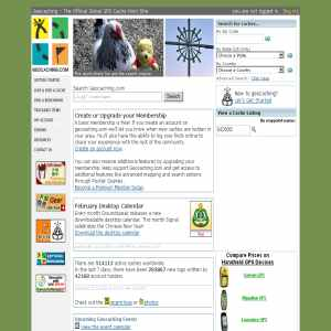 Geocaching.com - Find treasures with GSP