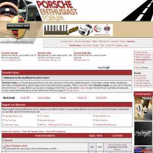 Porsche Forums