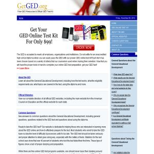 GED Online Test Classes