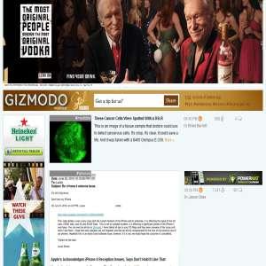 Gizmodo.com - gadgets & technology