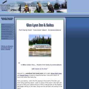 Port Hardy Hotel, Glen Lyon Inn Vancouver Island
