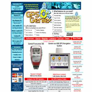 GPS Genie - Directions to the GPS for You