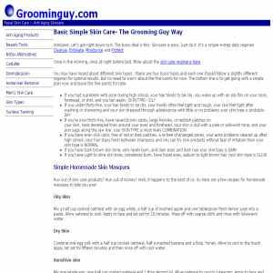 Anti-Aging Skincare | groominguy.com