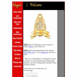 Hagens - Fishing Tackle Manufacturer