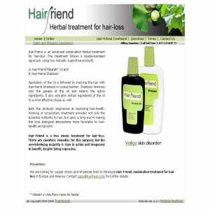 Hair-Friend - Fast treatment for hairloss