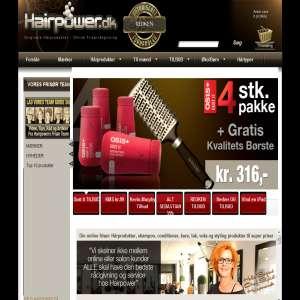 Hårprodukter online - Hairpower.dk