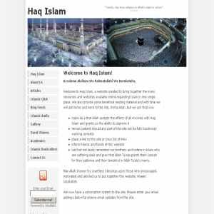 Haq Muslim Islam