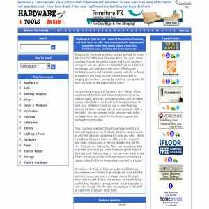 Hardware Tools Online