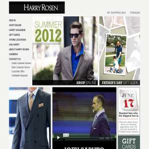 Harry Rosen Men