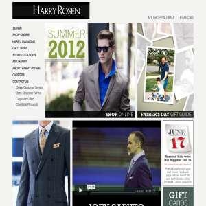 Harry Rosen Men