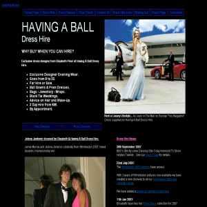 Dress Hire, Kingston - Having a Ball