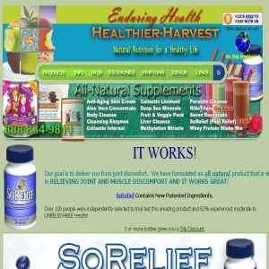 Nutritional Health Foods & Supplements