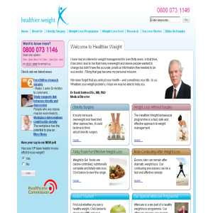 Healthier Weight - Weight Loss & Obesity Surgery
